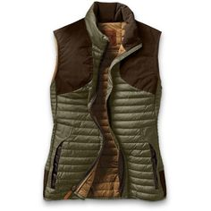 Shop women's microtherm® stormdown® field vest in Sport Shop at Eddie Bauer. Hunting Vest, Hunting Clothes, Hunting Outfits, Brown Vest, Cute Jackets, Dope Fashion, Girl Fashion, Sports Shops, Outdoor Woman