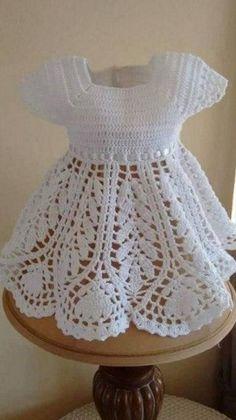 Crochet dresses for baby crochet