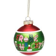 Alle Jahre wieder präsentiert Butlers den schönsten Weihnachtsschmuck. Von klassisch bis modern, von besinnlich bis beschwingt. Zum Verschenken und sich selbst Verwöhnen. Für echte und künstliche Christbäume, für Tannenzweige und Ihre ganz persönlichen Dekoideen. Das wird ein Fest! Hier: Kugel aus Glas, von Hand bemalt.