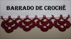 Barrado de Crochê Carreira Única # 01                                                                                                                                                                                 Mais