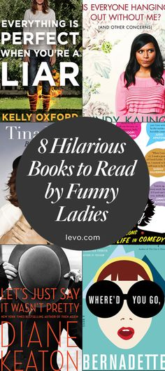 Must-read: Funny #books by funny women authors!