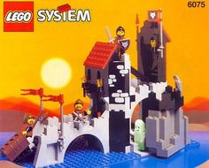 Lego Wolfpack Tower, 1992. We totally had this one too!