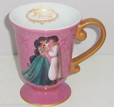Disney Fairytale Jasmine Aladdin Designer Mug Coffee Cup Princess New