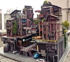 Miniature HongKong 籠城 The Cage City