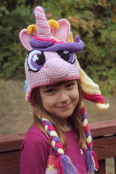 My Little Pony Costume Princess Cadence by TOPstitchesCrochet. Avery wants this. $5 pdf