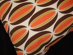 Chris Stone Spice Loops Pillow Cover  Orange by atomiclivinhome, $58.00