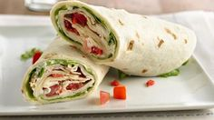 From slow-cooker buffalo chicken to roast beef and bacon, these wraps are easy to make and a breeze to pack for lunches, picnics or dinners in the park.