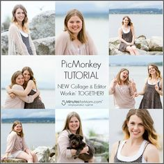 PicMonkey Video Tutorial - How To Edit Photos Within A Collage #picmonkey