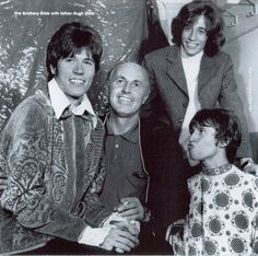 the bee gees and their dad