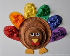 I HEART CRAFTY THINGS: Turkey Color Match Craft