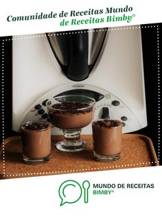 Danettes Caseiros de Chocolate de Receitas para a felicidade. Receita Bimby<sup>®</sup> na categoria Sobremesas do www.mundodereceitasbimby.com.pt, A Comunidade de Receitas Bimby<sup>®</sup>.