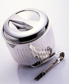 Richard Fox runs a design-led manufacturing company specialising in Silverware, Fox Silver. Luxury Definition, Bucket, Ice, Silver, Design, Ice Cream, Buckets, Aquarius