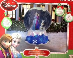 New 6 ft Tall Christmas Disney Frozen Elsa Anna Olaf Snowglobe Inflatable Gemmy | eBay
