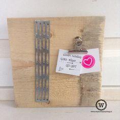 Stoer #memobord van gebruikt steigerhout! limited edition