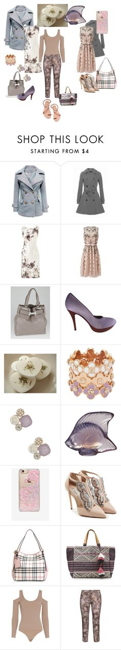 """Floral"" by ashly-allen ❤ liked on Polyvore featuring Jacques Vert, Valentino, Chanel, Donald J Pliner, Henri Bendel, Natasha Accessories, Lalique, Skinnydip, Olgana and Burberry"