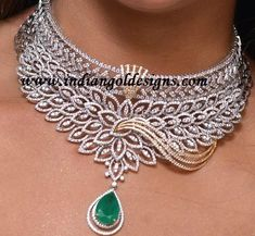 There are diamond pendants that cover a complete series of hues. Diamonds are positioned in numerous various color categories. Colorless and white are two of them. Diamond Necklace Set, Diamond Pendant, Pendant Necklace, Diamond Jewellery, Emerald Necklace, White Necklace, Pearl Necklace, Bling Bling, Jewelery