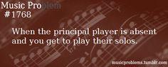 Unless you've never practiced it the bits kindof a problem