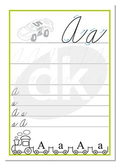 Písmeno A | datakabinet.sk Letter Of The Week, Thing 1, Home Schooling, Montessori, Alphabet, Crafts For Kids, Homeschool, Lettering, Writing