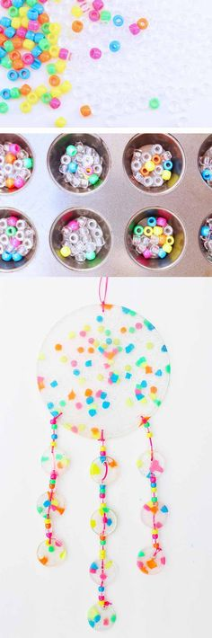 Make Dreamy Suncatchers for Kids inspired by THE ARTFUL YEAR.