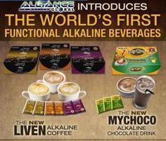 alkaline liven coffee
