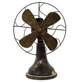 Found it at Wayfair - Resin Fan