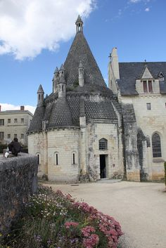 Fontevraud Abbey, Loire Valley, France our first castle, purchased our $3 coke (remember this was in 1998)