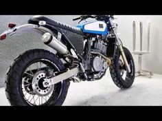 Custom 2014 Suzuki DR650 by 66 Mot   orcycles - YouTube