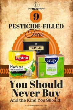 Since tea is often praised as a healthy drink, The Canadian Broadcasting Corporation (CBC) decided to investigate whether or not the most popular tea brands contained traces of pesticides in their products that could undermine the health benefits of the tea.
