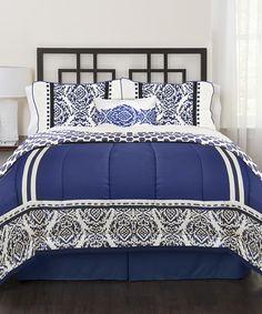 Blue India Loft Comforter Set
