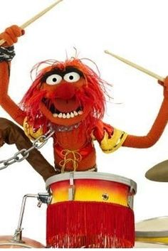 Animal was inspired by Keith Moon of The Who. | 25 Facts And Tidbits About The Muppets That Might Blow Your Mind
