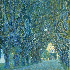 Gustav Klimt, Viale Alberato