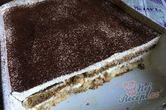 Nejlepší a nejjednodušší tiramisu | NejRecept.cz Tiramisu, Ethnic Recipes, Desserts, Food, Tailgate Desserts, Deserts, Essen, Postres, Meals