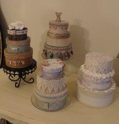 paper cakes...