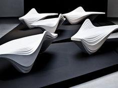 Serac Bench or Lab23 by Zaha Hadid Design: The Essential - 2013 - Di Marzo Cecilia