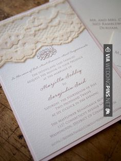 Love this - Oraciones para invitaciones de boda Love this blush lace wedding invitation, except with our logo instead of the Arabic prayer. | CHECK OUT SOME SUPER COOL PHOTOS OF GREAT oraciones para invitaciones de boda OVER AT WEDDINGPINS.NET | #comohacerinvitacionesdeboda #oracionesparainvitacionesdeboda #oracionesparainvitaciones #Invitaciones #boda #weddings #invitations #weddinginvitations #vows #tradition #nontraditional #events #forweddings #iloveweddings #romance #bea