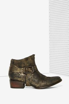 Freebird by Steven Phoenix Leather Ankle Boot - Shoes