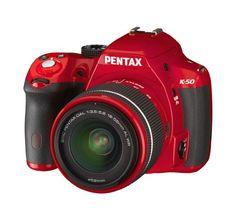 Pentax K-50 16MP Digital SLR Camera Kit with DA L 18-55mm WR f3.5-5.6 Lens (Red) - http://dslrcameras.dealsforblackfriday.com/2429/pentax-k-50-16mp-digital-slr-camera-kit-with-da-l-18-55mm-wr-f3-5-5-6-lens-red.html