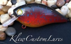 Custom Painted Lure - Sunset Series