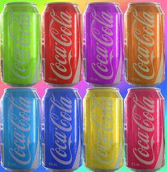 Colorful Coca-Cola