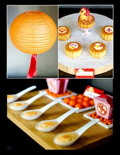 Chinese New Year Party via Bird's Party #ChineseNewYear #PartyIdeas #Festa #Chinesa #Anniversaire #Chinois #Party #PartySupplies #Pirntables #Food