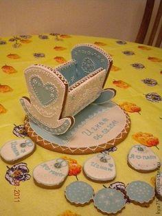 Подарки для новорожденных, ручной работы. Ярмарка Мастеров - ручная работа Пряничная кроватка. Handmade.