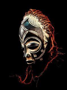 Chokwe Mask Angola African Tribal