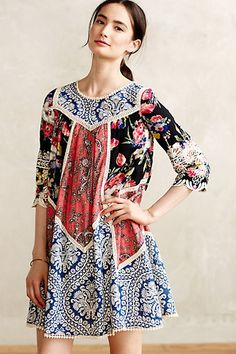 Inez Swing Dress #anthropologie #anthrofave