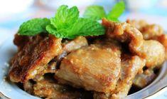 Honey Mustard Pork Chops recipe: Try this Honey Mustard Pork Chops recipe, or contribute your own. Pork Sausage Recipes, Pork Chop Recipes, Meat Recipes, Honey Mustard Pork Chops, Peach Pork Chops, Stir Fry Quorn, Pork Loin Marinade, Veggie Fried Rice, Leftover Rotisserie Chicken
