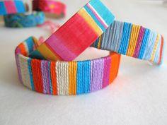 Popsicle stick bracelet