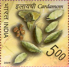 India Post - 2009 - SPICES OF INDIA  Cardamom