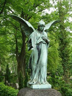 German Cemetary Angel