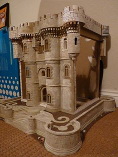 castle bookcase in progress by ArtisAllan