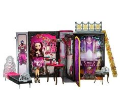 Ever After High Thronecoming Briar Beauty Doll AND Playset NEW In Hand Play Set