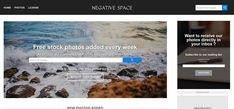 Negative Space, docenas de fotografías gratis de alta calidad y algunas en formato RAW